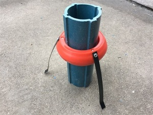 高强度PVC沉降管 沉降磁环
